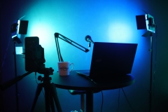 DWS Studio for Podcasting and Production
